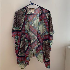 Band of Gypsies Boho Kimono Cover Up